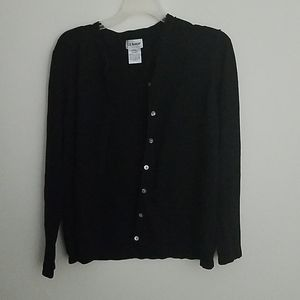 Black Buttonup Cardigan